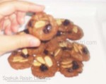 Spekuk Raisin Cookies