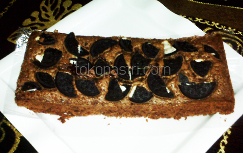 Brownies bakar oreo 500 1 Brownies Panggang Oreo