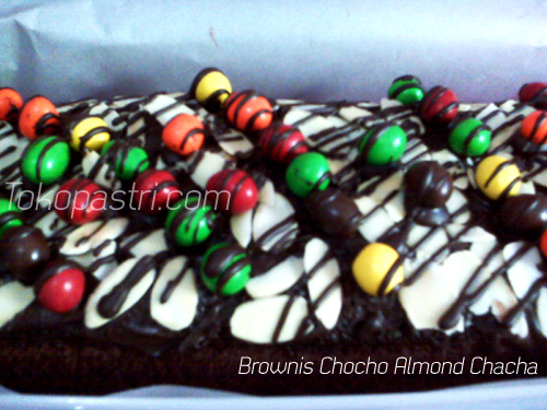 Brownies Choco Almond Chacha