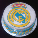 Toko kue |  Real Madrid Fondant Birthday Cake