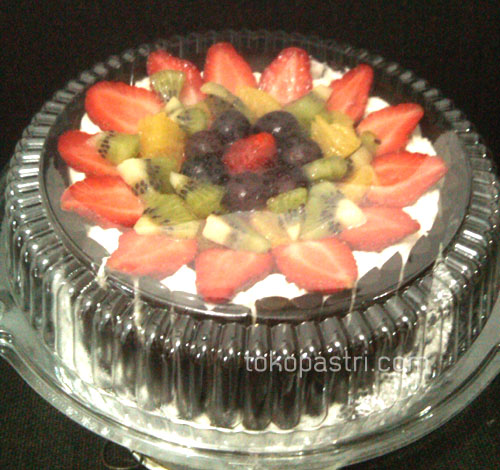 Cheese Fruit Cake