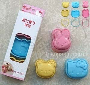1 Set Cetakan Nasi Hello Kitty